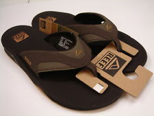 REEF MENS SANDALS FANNING BROWN GUM SIZE 9