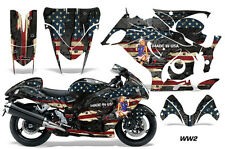AMR Racing Graphic Kit Wrap Part Suzuki Hayabusa 1300 Street Bike 08-13 WW2