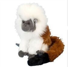 "8"" CK Cottontop Tamarin Monkey Plush Stuffed Animal Toy - New"