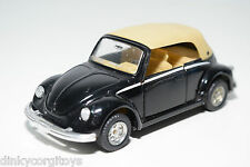 MC TOY MACAU VW VOLKSWAGEN BEETLE KAFER CABRIOLET BLACK EXCELLENT