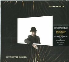 Leonard Cohen - You Want It Darker CD (new album/sealed)