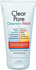 6 Pack - Neutrogena Clear Pore Cleanser/Mask 4.20 oz Each
