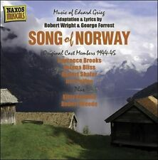 NEW Grieg/forrest/wright: Song Of Norway CD (CD) Free P&H