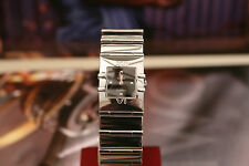 Omega Quadra 1521.41 Black Face 24mm Ladies Quartz Watch 9.5/10 Min Condition