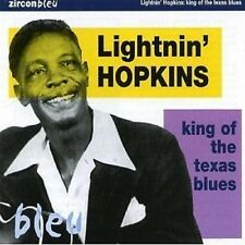 Lightnin' Hopkins King Of The Texas Blues CD NEW SEALED