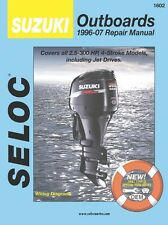 SUZUKI OUTBOARD SERVICE REPAIR MANUAL 1996-2007 4 STROKE SELOC 1602