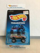#2  Tall Ryder 7530 Silver * 1987 Malaysia * Vintage Hot Wheels * H71