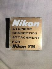 Nikon FM -5.0D eyepiece correction attachment  New in the box