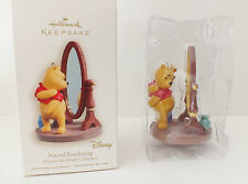 "Hallmark 2008 ""Pound Pondering Winnie the Pooh"" Disney Christmas Ornament NIB"