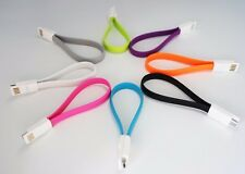 magnetic flat micro USB Data charging cable for Samsung S5-S3-S4-20cm