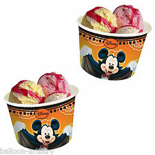 8 Halloween Disney Mickey Mouse Party Usa e Getta Carta GELATO VASI CIOTOLE