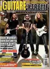 """GUITARE XTREME #16 """"Iron Maiden,Bonamassa,R.J.Dio,Nono,Jack E Lee"""" (REVUE+CD)"""