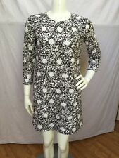 See By Chloe Italy Dk Brown/Ivory Cotton Lace Cut Out Shift Dress Sz US 4 NWOT!