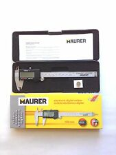 CALIBRO A CORSOIO ELETTRONICO DIGITALE IN ACCIAIO INOX 240 MM. MAURER