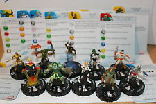 Heroclix GUARDIANS OF THE GALAXY Gravity Feed 201-210 SET Complete