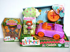 Lalaloopsy RC Cruiser Bea Spells-a-lot Silly FUNHOUSE Ace Fender Bender Mini NEW