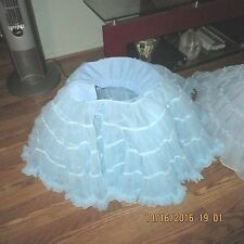AB-P-#2--SQUARE DANCE PETTICOAT,2 LAYERS NYLON.WILL STAND ALONE,VERY FULL