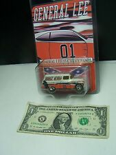 Hot Wheels General Lee 1955 Chevy Panel - General Delivery Custom Paint