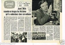 Coupure de presse Clipping 1975 (2 pages) Jean L'Hote