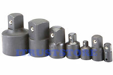 "1/4 3/8 1/2 3/4 1 "" INCH DR IMPACT SOCKET ADAPTER REDUCER SET 1/2"" TO 3/4"" TO 1"""