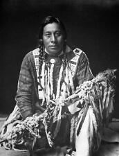Photo. 1909-10. Medicine Pipe - Native American Blackfoot Indian
