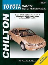 Chilton Repair Manual 68201 Toyota Camry, Avalon, ES300 1997-01  # 68201