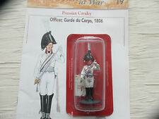 DEL PRADO NAPOLEON AT WAR: OFFICER, FRENCH GARDE DU CORPS 1806 + MAGAZINE No 19