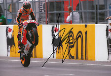 Marc Marquez Hand Signed Repsol Honda 12x8 Photo 2014 MotoGP 2.