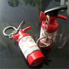 Fire Extinguisher Refillable Butane Gas Flame Cigar Cigarette Keychain Lighter