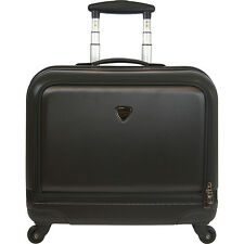 "Travelers Club Luggage Stanford 18"" Rolling Laptop Hardside Luggage NEW"