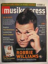 MUSIK EXPRESS SOUNDS 2004 # 2 - ROBBIE WILLIAMS SOPHIA DISTILLERS DARKNESS EXTRA