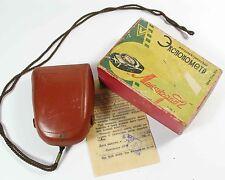 USSR Rare Russian USSR Leningrad 2 light meter Case and box (6)