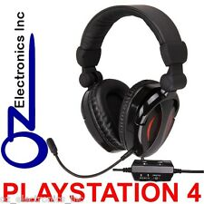 For PS4 Playstation 4 Gaming Headset game sound + chat 2.1 EXTRA BASS Stereo NEW