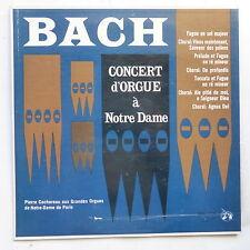 BACH Concert d orgue à Notre Dame PIERRE COCHEREAU Grandes orgues Notre Dame