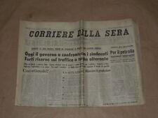 GIORNALE D'EPOCA-CORRIERE DELLA SERA DEL 8 FEBBRAIO 1974 COMPLETO PAGINE 20