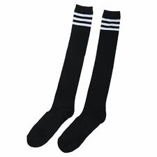 Women Lady Wool Knit Over Knee Thigh High Long Socks Stockings Pantyhose Tights