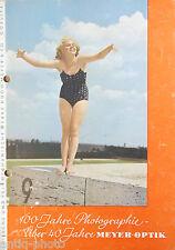 """Catalogue photo""""Optische und feinmechanische werke Hugo Meyer & co. Gorlitz"""""""