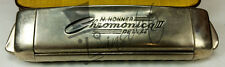 Armonica Vintage HOHNER CHROMONICA II DE LUXE - anni '50 - Made in Germany -