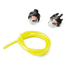 For Husqvarna chainsaws Trimmer Primer Bulbs W/ 2FT Fuel Gas Line Hose 2mm 3.5mm