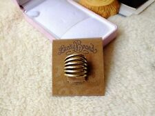 New Retro Lucky Brand Golden tone Beautiful Rings Size 7