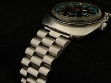 Men's Solid Link BRACELET for SEIKO 4006-602x Bell-Matic Alarm Watch