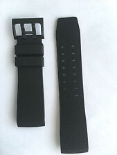 Original Hamilton Khaki BelowZero Black Rubber Strap Band for watch H78585333