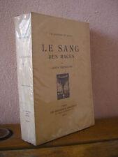 Louis Bertrand : le sang des races Editions Crès 1921