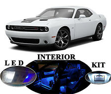 LED Package - Interior + License Plate + Vanity for Dodge Challenger (14 pieces)