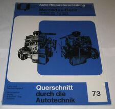 Reparaturanleitung Mercedes Benz 180 D + 190 D Ponton Diesel W120 + W121
