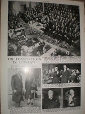 Photo article conservative party conference Scarborough 1952 ref O50s