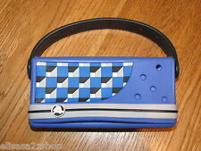 Crocs universal video game carrier case portable devices removeable **strap blue