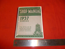 1937 Packard Shop Manual glove box size