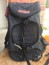 Burton Snowboards Backpack Day Hiker Pack Black board straps many pockets Bag