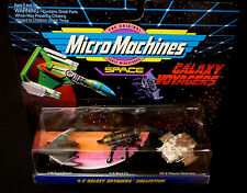 Micro Machines Galoob Galaxy Voyagers Collection 2 Set 1993 65824 New Black Fly